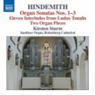 8 573194. HINDEMITH Organ Sonatas. 2 Organ Pieces