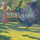 CDA67999. KODÁLY String Quartets Nos 1 & 2. Dante Quartet