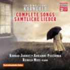 C5252. KORNGOLD Complete Songs