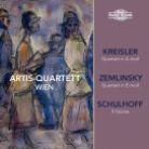 NI5942. KREISLER; SCHULHOFF; ZEMLINSKY String Quartets