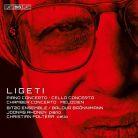 BIS2209. LIGETI Cello Concerto. Piano Concerto