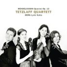 AVI855 3266. MENDELSSOHN Quartet Op 13 BERG Lyric Suite