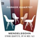NI6327. MENDELSSOHN String Quartets Nos 3 & 5