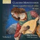 COR16142. MONTEVERDI Messa a Quattro voci et salmi of 1650