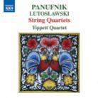 8 573164. A PANUFNIK String Quartets Nos 1 - 3 LUTOSŁAWSKI String Quartet