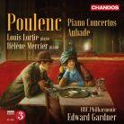CHAN10875. POULENC Piano Concerto. Concerto for 2 Pianos
