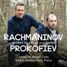 PTC5186 594. RACHMANINOV; PROKOFIEV Cello Sonatas