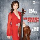 90295 92460. RACHMANINOV; PROKOFIEV Cello Sonatas