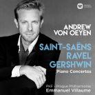 190295908485. SAINT-SAËNS; RAVEL Piano Concertos