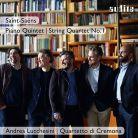 AUDITE97 728. SAINT-SAËNS Piano Quintet. String Quartet No 1