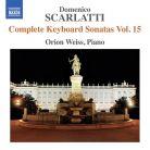 8 573222. SCARLATTI Complete Keyboard Sonatas Vol 15