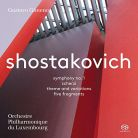 PTC5186 622. SHOSTAKOVICH Symphony No 1 (Gimeno)