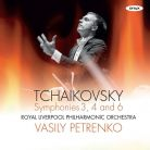 ONYX4162. TCHAIKOVSKY Symphonies Nos 3, 4 & 6