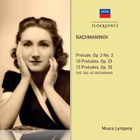 482 6266. RACHMANINOV Preludes (Moura Lympany)